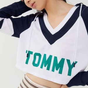 Tommy Hilfiger Urban Outfitter Retro Crop Hoodie